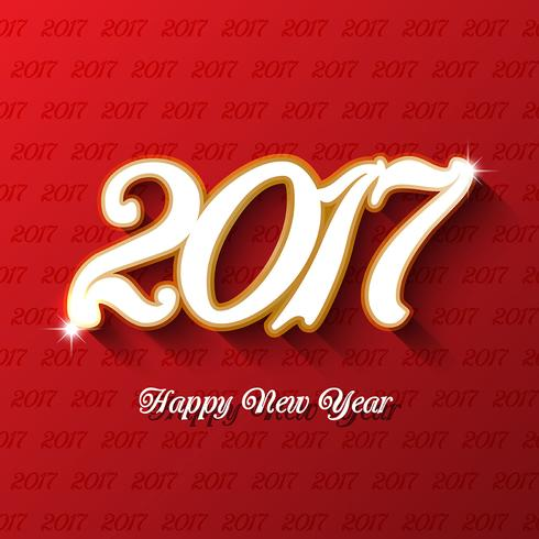 Decorative type background for the new year