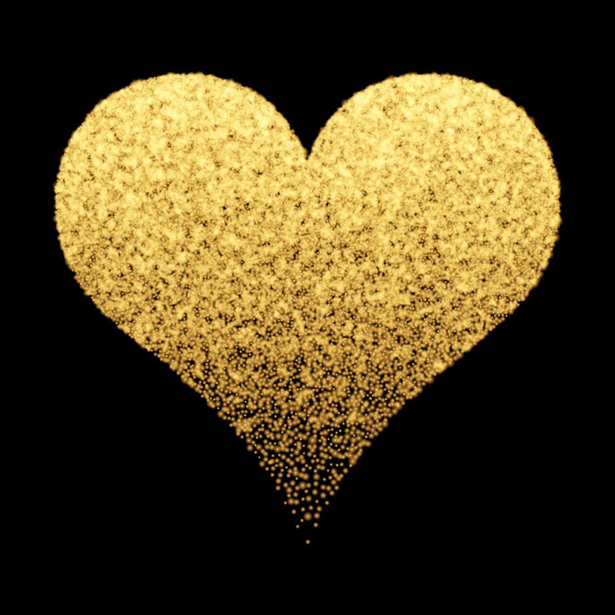 Gold sparkle heart background - Download Free Vectors ...