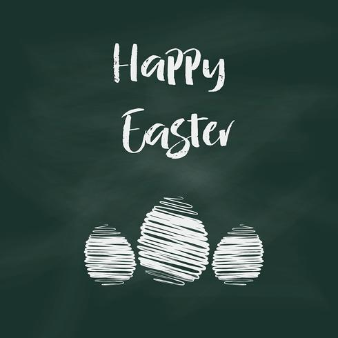 Easter chalkboard background