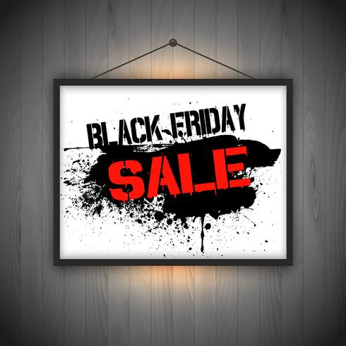 Black friday sale notice background