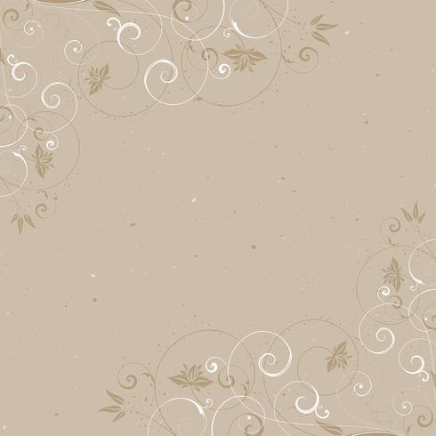 Vintage cadre floral