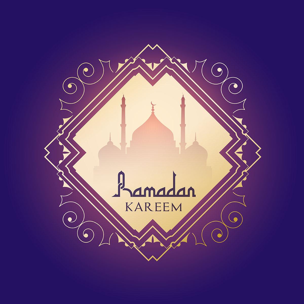 Ramadan kareem background - Download Free Vector Art