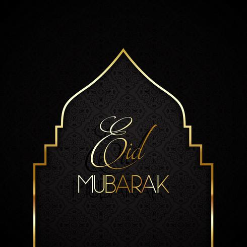 Stylish Eid mubarak background 0606