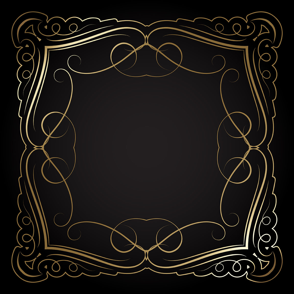 Gold Borders Free Vector Art - (11816 Free Downloads)