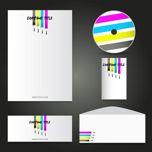 Painters business stationery mock up