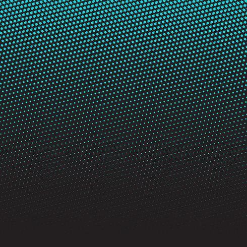 Halftone star pattern design