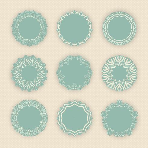 Decorative circular borders