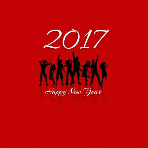 Happy New Year party background