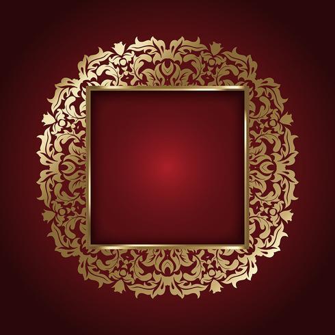 Elegant guldram