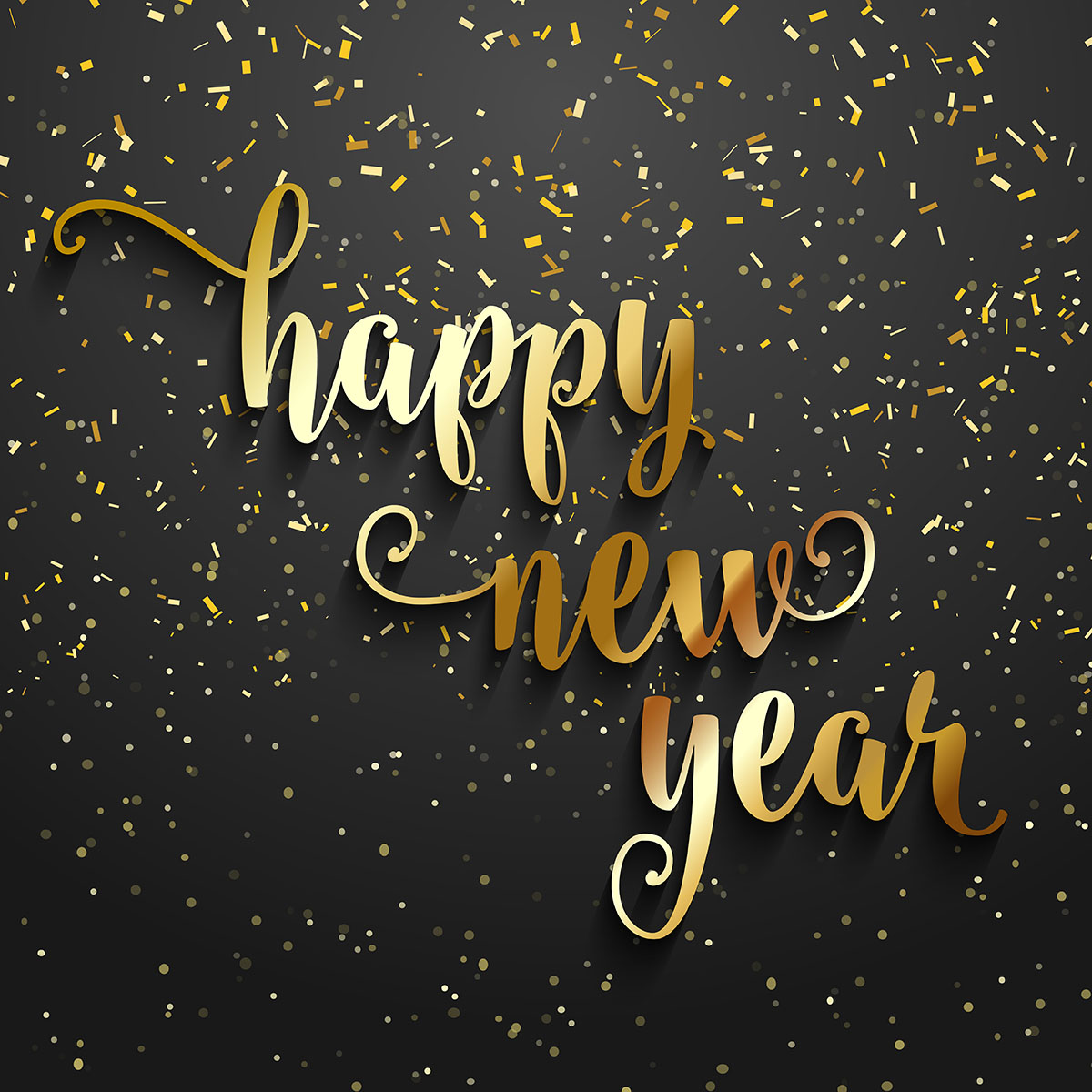 Happy New Year confetti background - Download Free Vectors ...