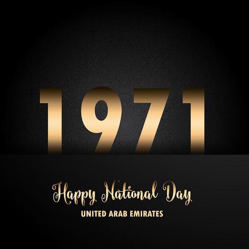 Dekorativa UAE National Day bakgrund