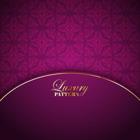 Luxurious pattern background