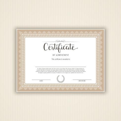 Certificat de conception