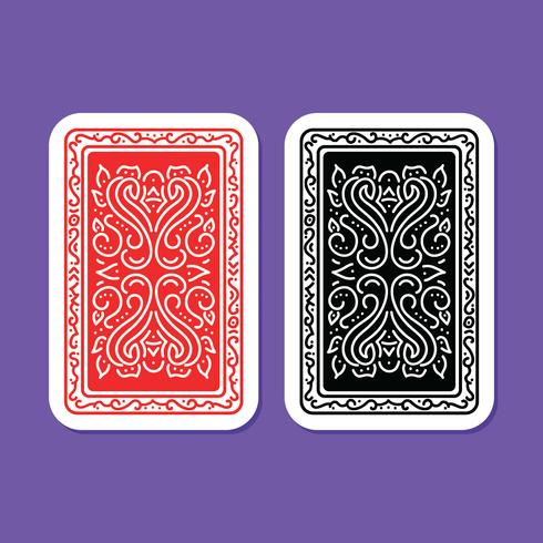 Playing Cards Back Cover