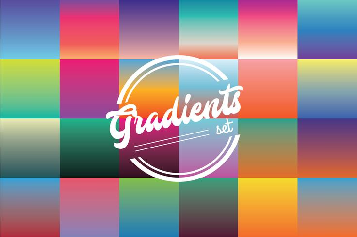 Gradients Color Set