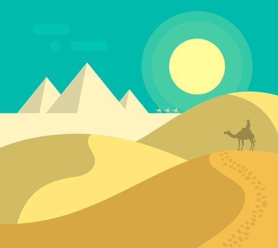Pirâmides egípcias planas