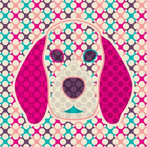 abstrakt hund