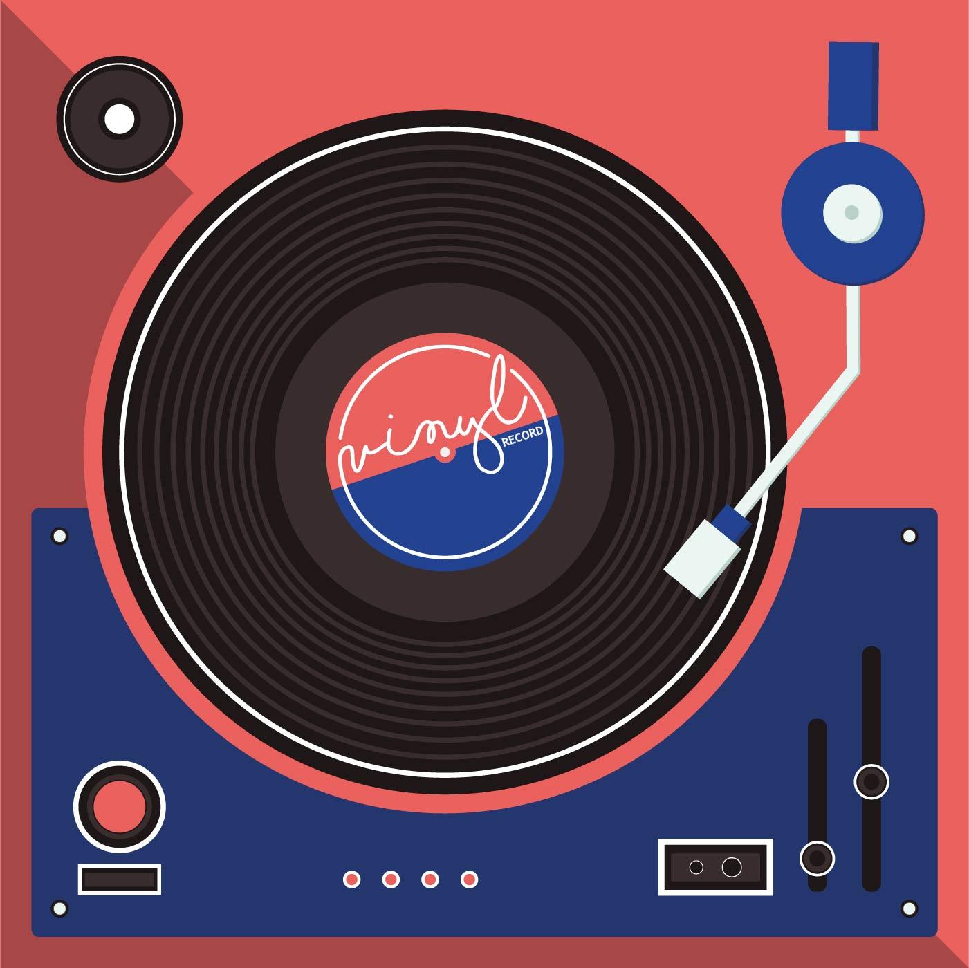Vinyl Records Download Free Vector Art Stock Graphics