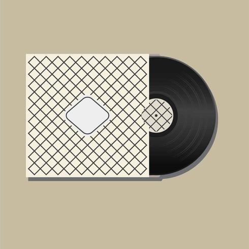 Vinyl Records Illustratie Vector