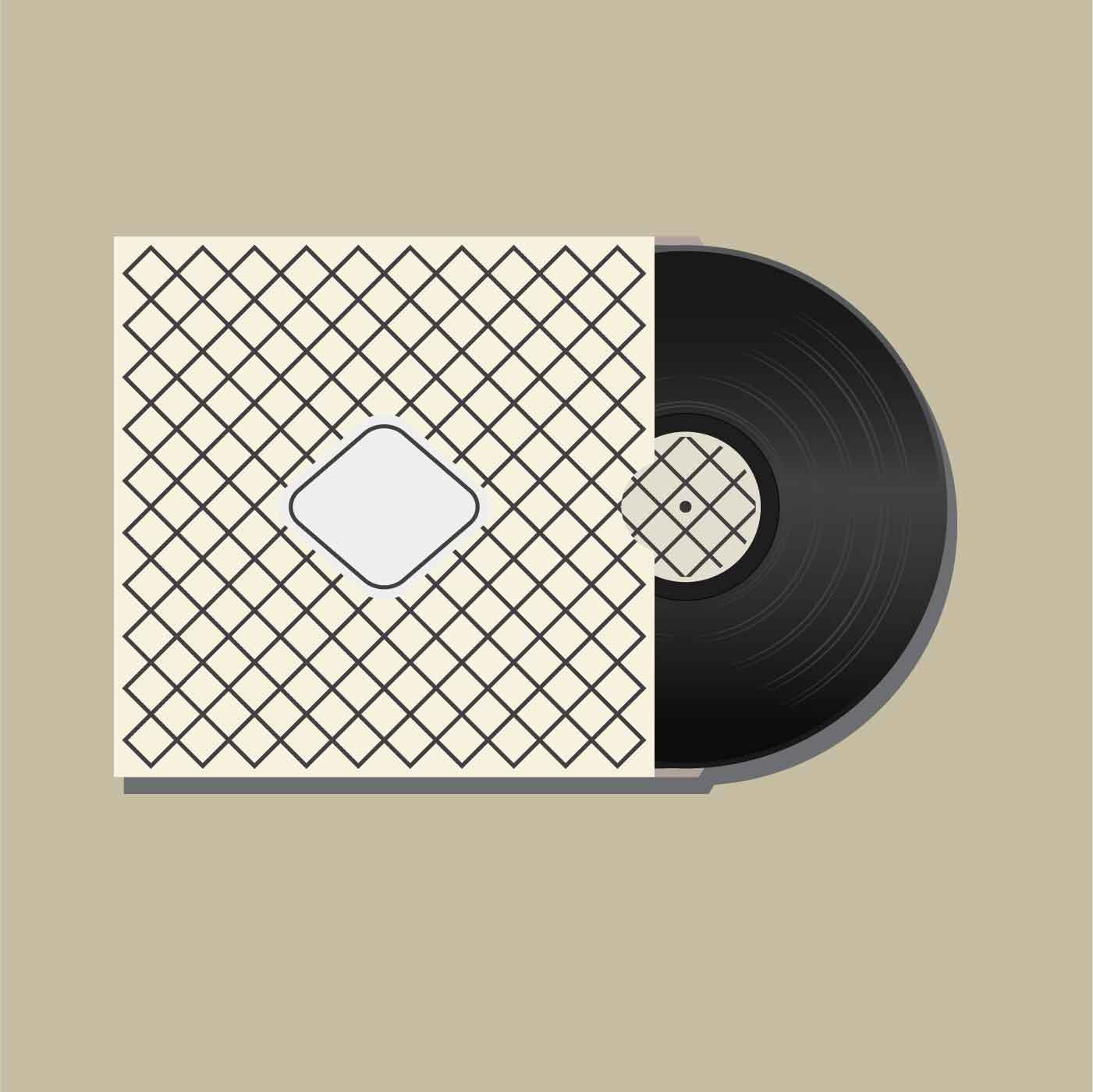 Vinyl Records Illustration Vector Download Free Vectors