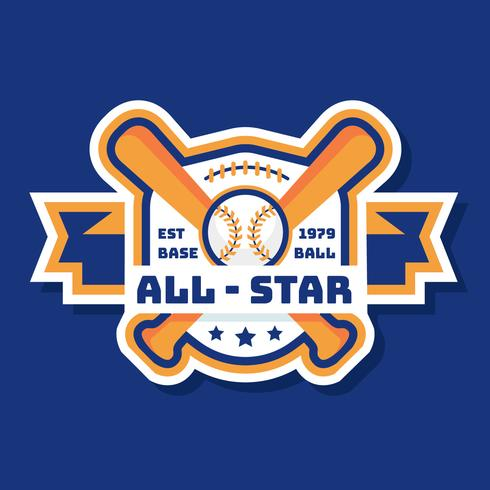 Béisbol Logo Vector