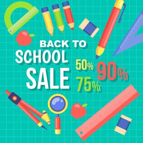Retour à la vente d'école