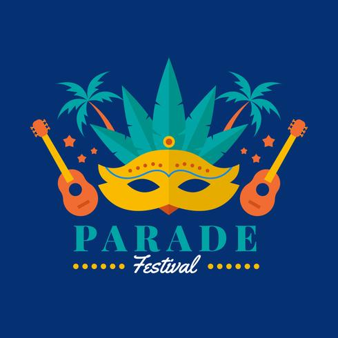 Parade Festival Vector Illustration