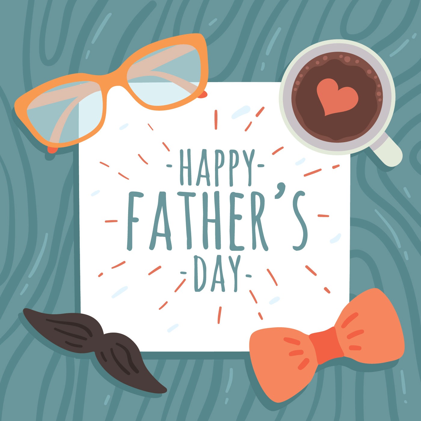 Happy Fathers Day Vector - Download Free Vector Art, Stock ...