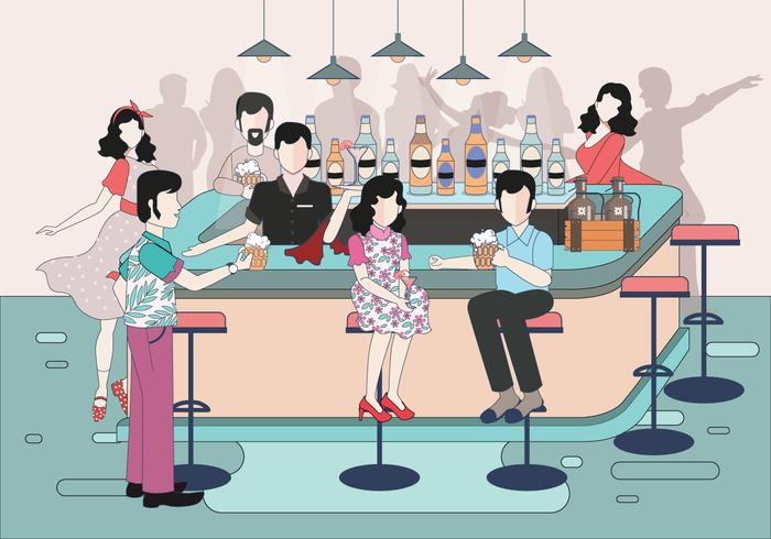 Crowded Bar Vol 2 Vector