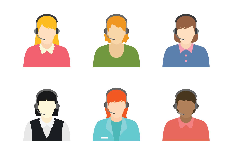customer profile free vector art