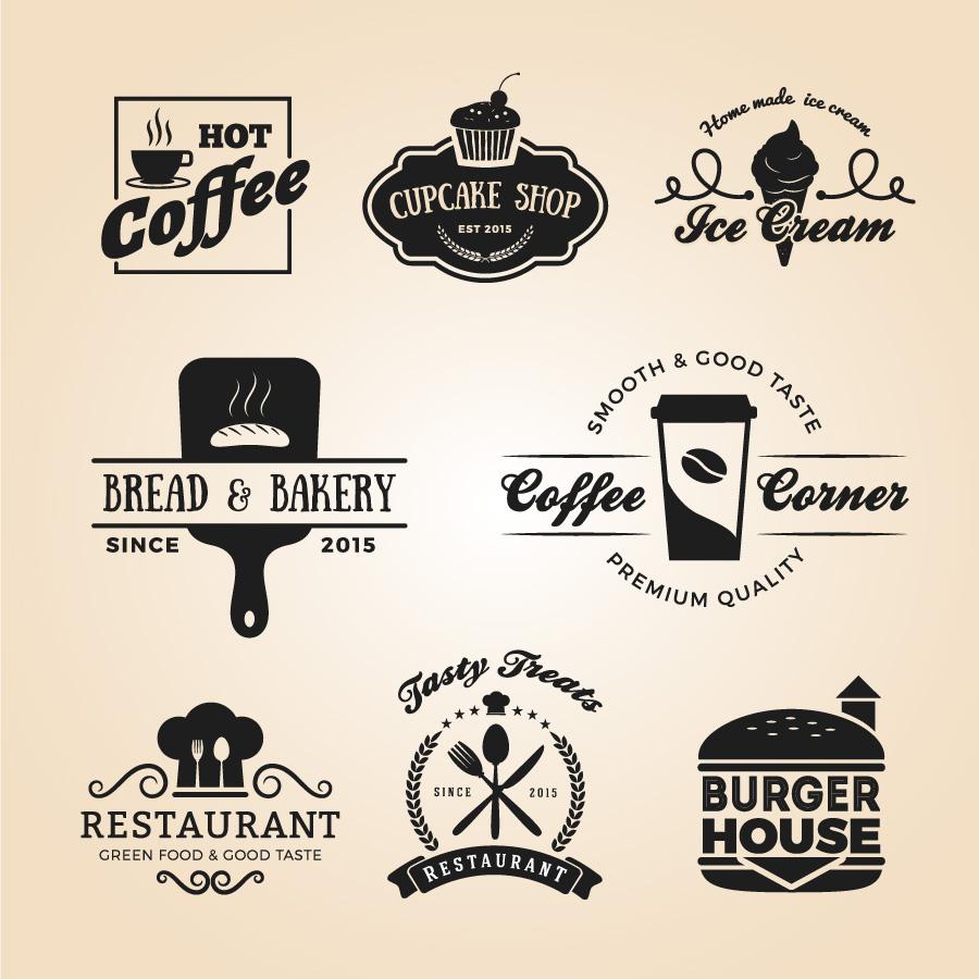 drink vector badges restaurant label clipart system graphics illustration vecteezy