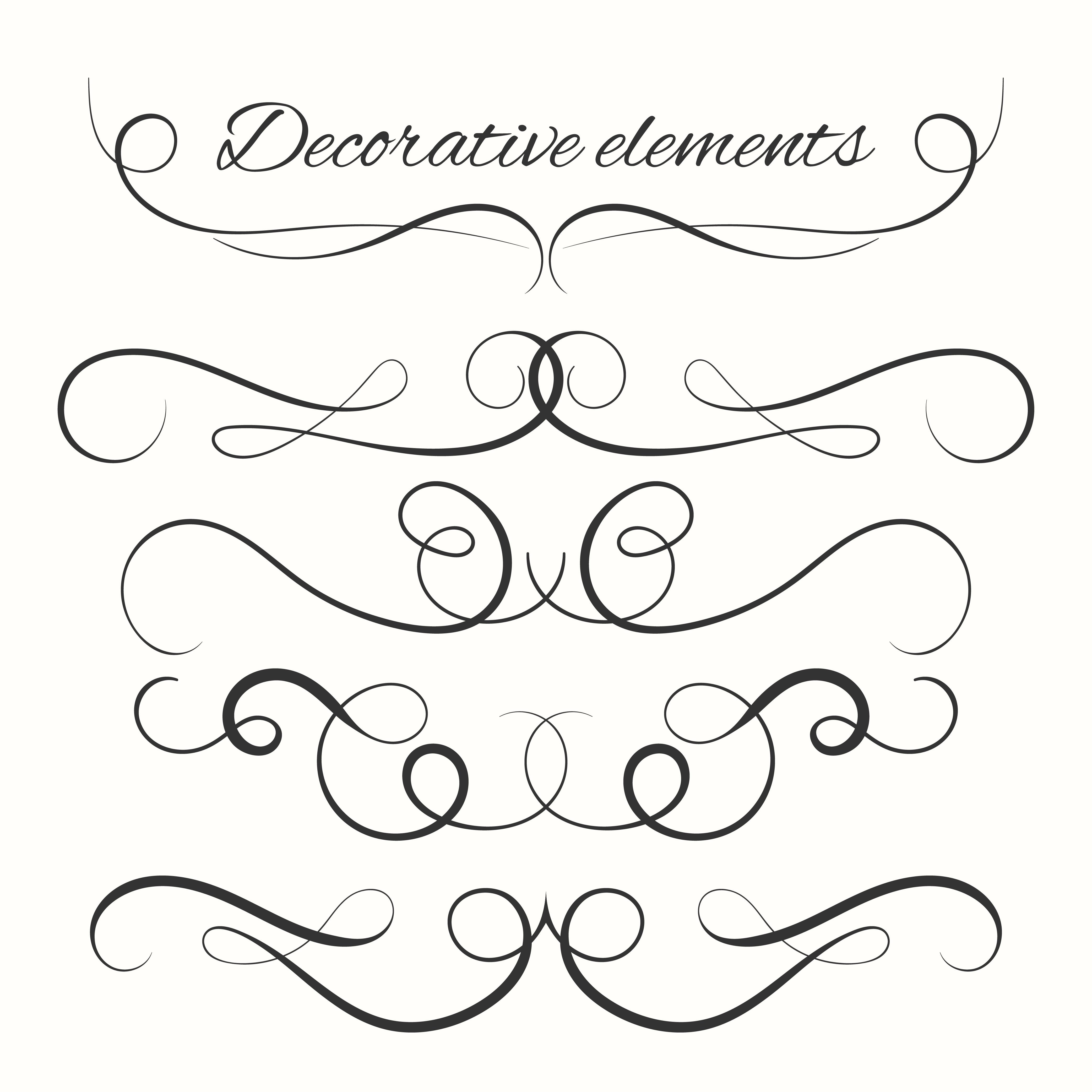Decorative Lines Free Vector Art - (133,821 Free Downloads)