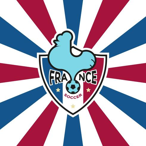 French Soccer Badge