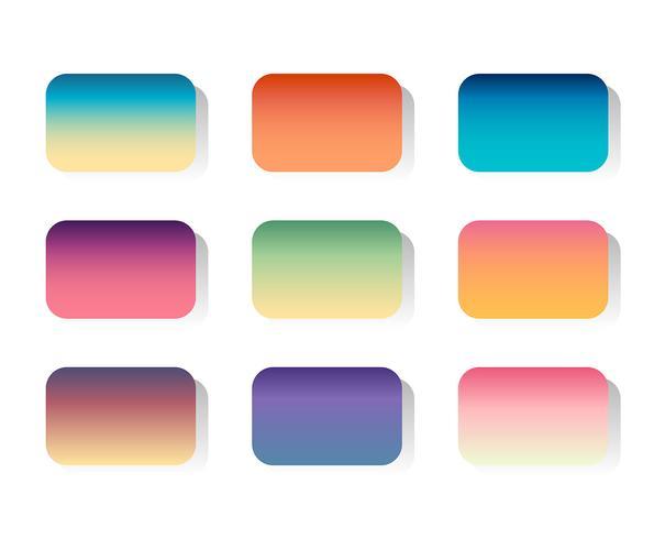 Conjunto de vetores de gradientes