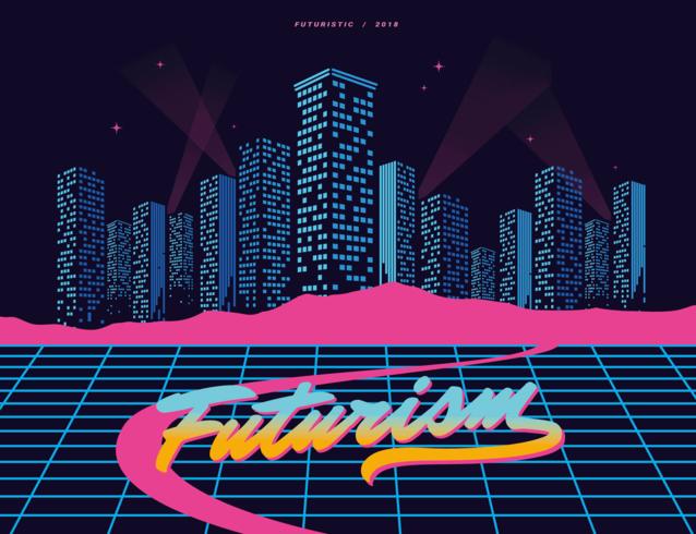 Futurismus Vektor