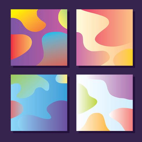 Gradients Square Vector