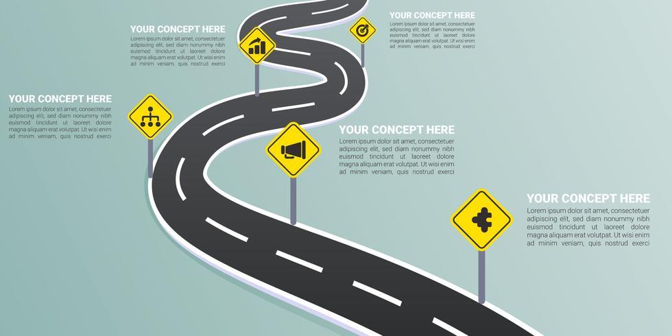 Mejores vectores de mapas de carreteras