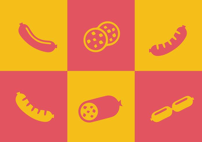 Vecteurs de Bratwurst