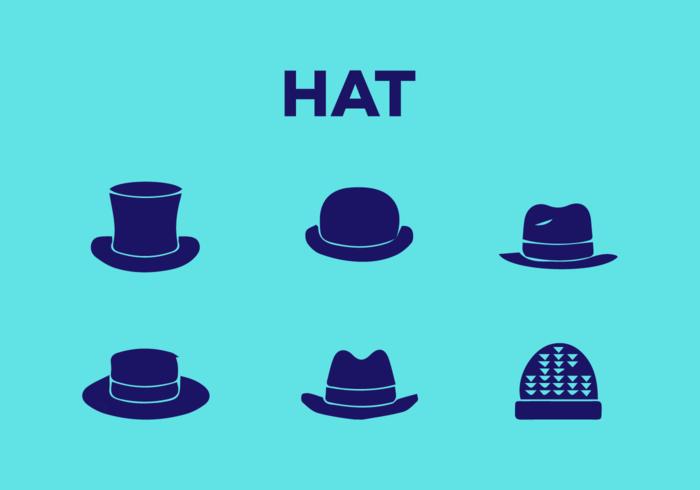 Vetores de chapéu