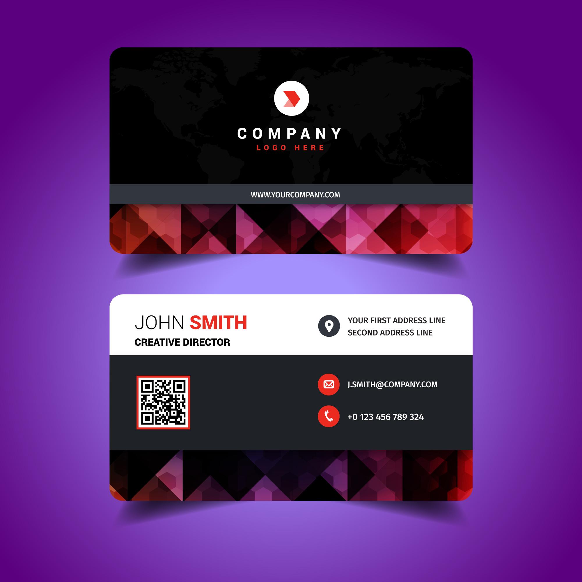 elegant business card 212664 vector art at vecteezy