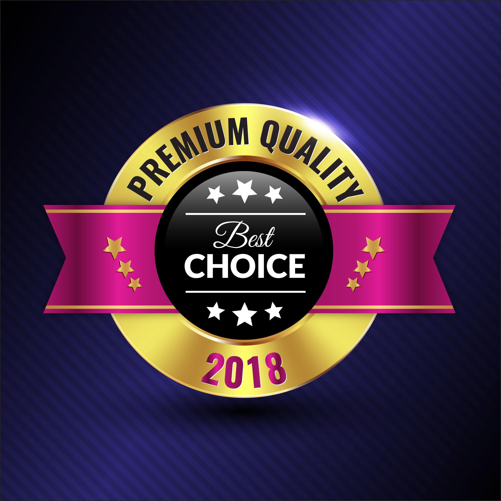 Premium Collection Badge Design