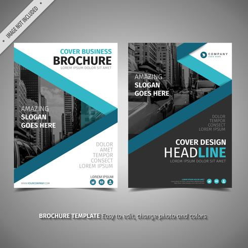 Blue Design Brochure