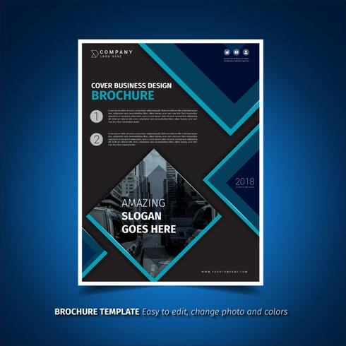 Darken Brochure Template