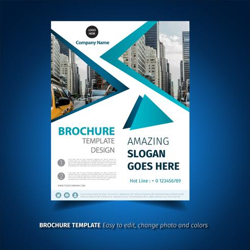 Geometric Brochure Template
