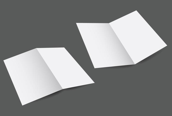 Blank Fold Template