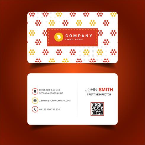 Round Colored Business Card