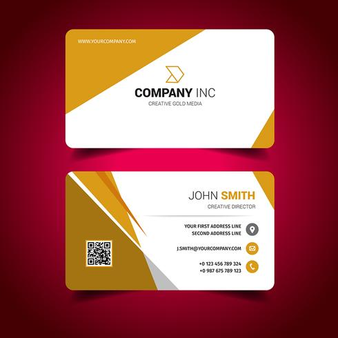 Orange Light Business Card