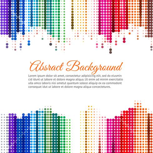 Colorful Abstract Background With Dots