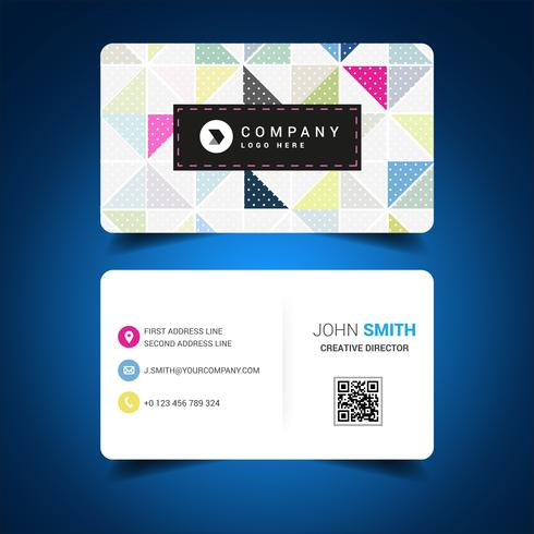 Colored Business Card