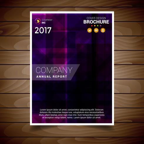 Purple Modern Brochure Design Template